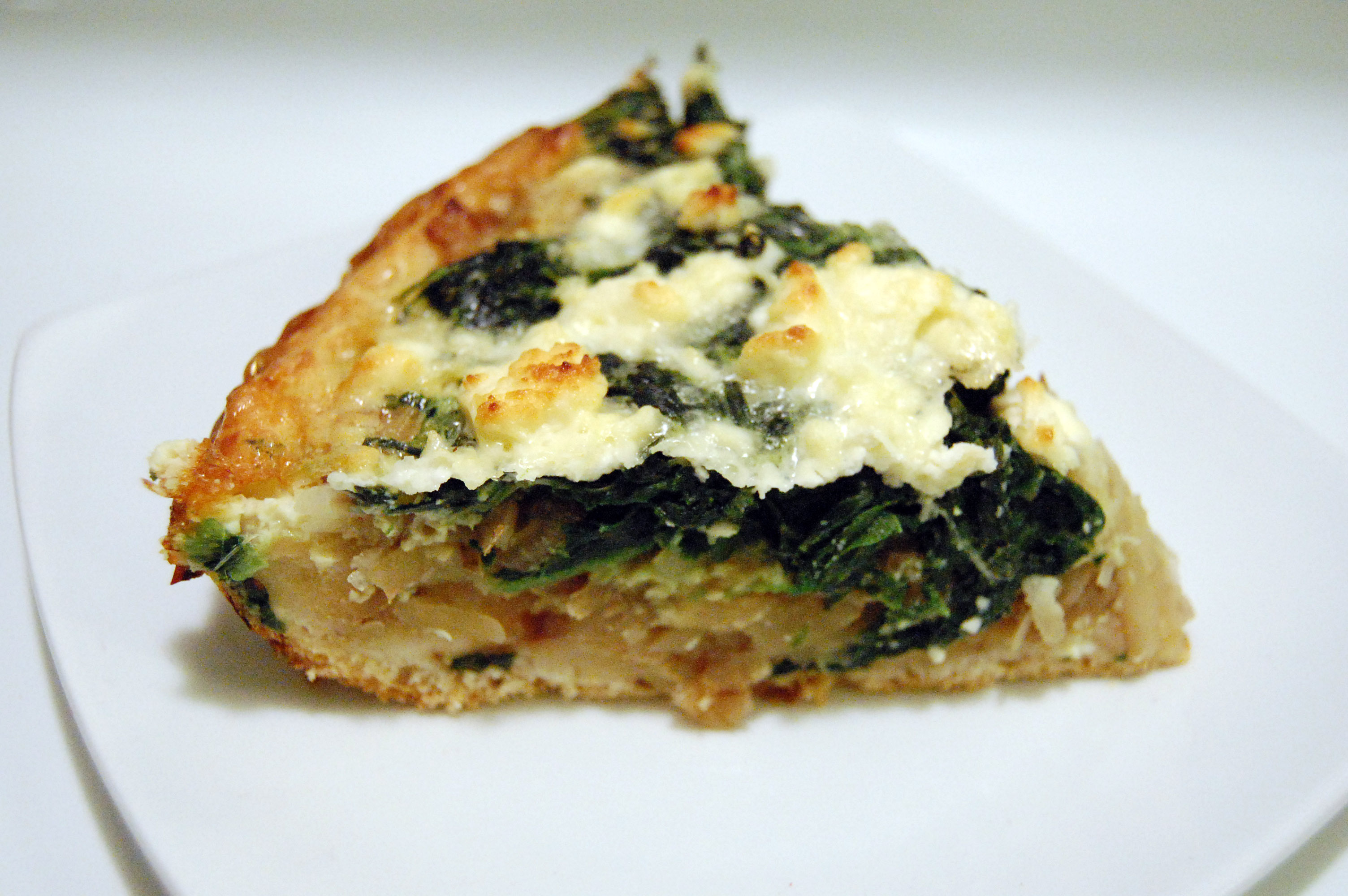 quiche asparagus and spinach quiche asparagus spinach feta spinach ...