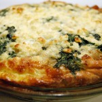 Spinach, Caramelized Onion, & Feta Quiche