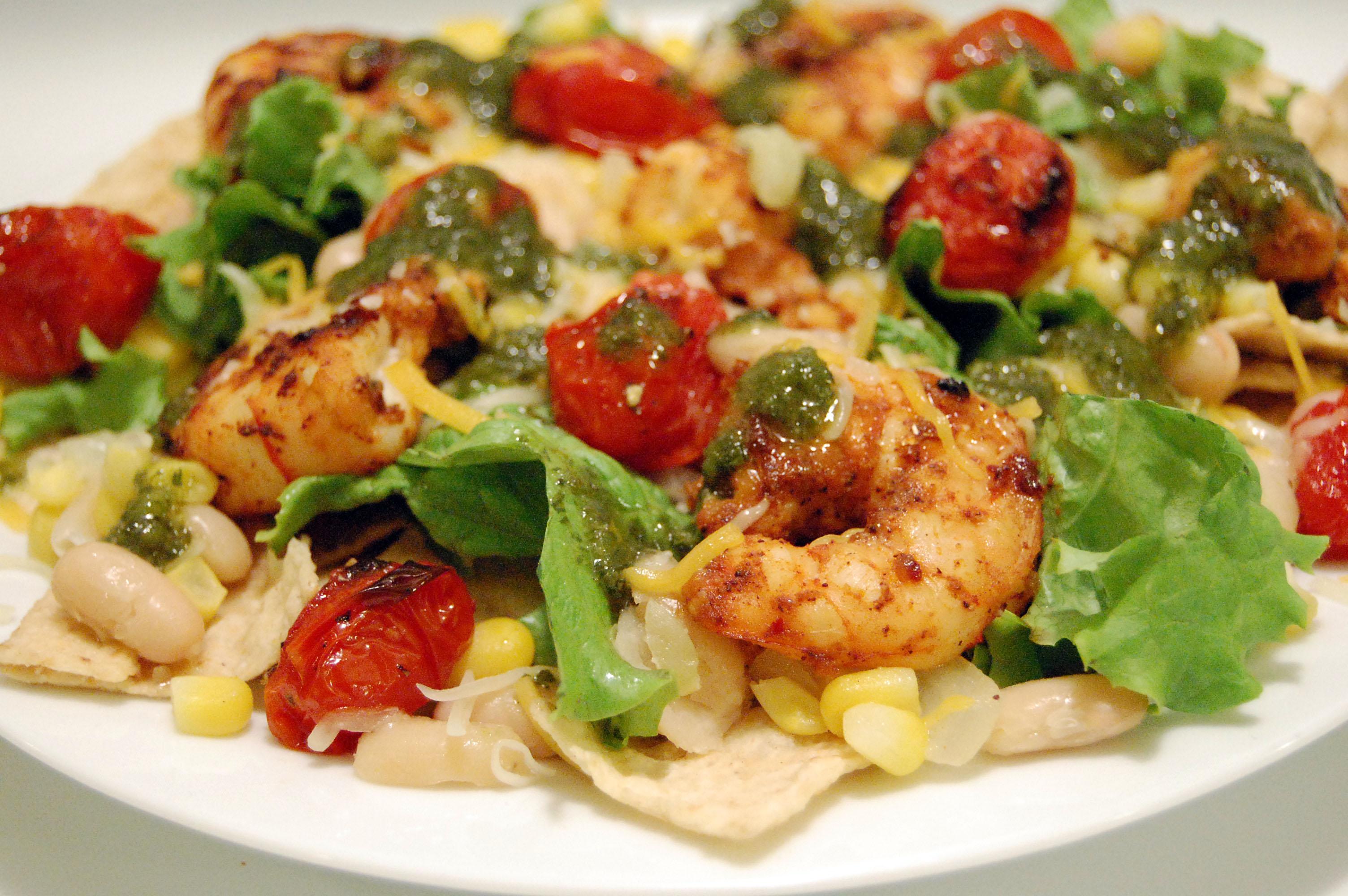 Chipotle-Lime Shrimp Taco Salad w/ Cilantro Vinaigrette ...
