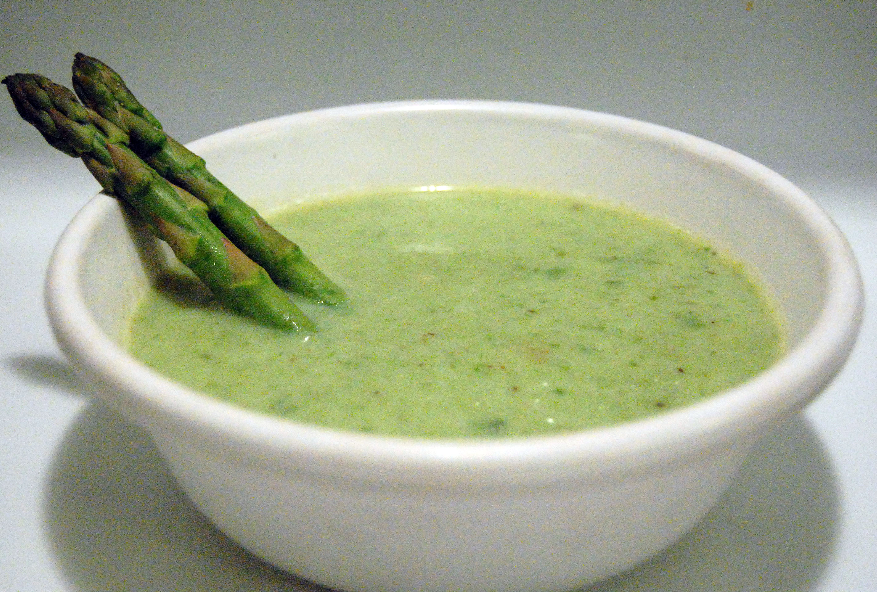Cream of Asparagus Soup » Savour the Senses